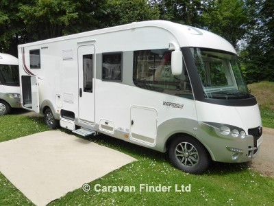 Rapido Serie 90 9000dFH ALDE motorhome for sale from Highbridge Caravans