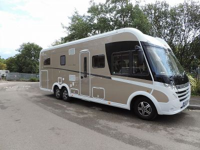 Dethleffs Globetrotter XLi motorhome for sale from Alan Kerr Leisure