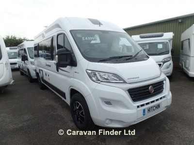Elddis Impressa CV40 motorhome for sale from Hitchin Caravans