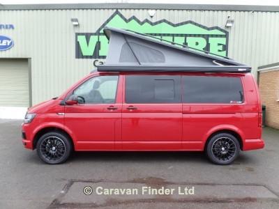 Vw T6 Redline Cherry Red BG67XKP motorhome for sale from Venture Caravans