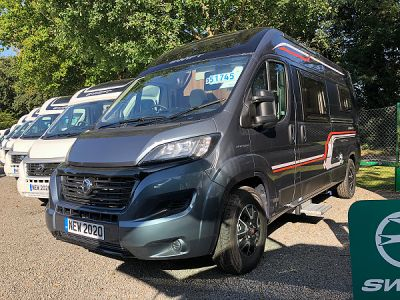 Swift Select 122 motorhome for sale from Broad Lane Leisure