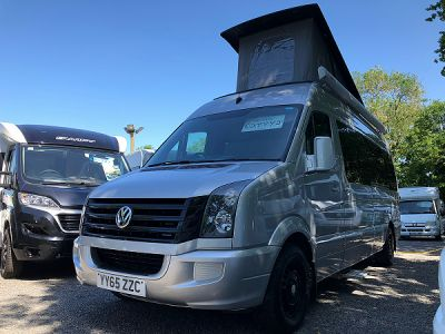 Vw Crafter Camper Conversion motorhome for sale from Broad Lane Leisure