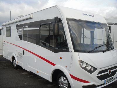 Sunlight I69L motorhome for sale from Preston Caravans and Motorhomes