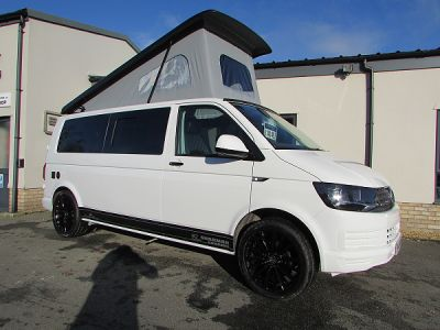Vw Camperking motorhome for sale from Sharman Caravans Ltd