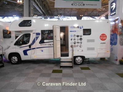 New Stewart Longton Caravans Chorley Diesel Swift Escape 696 ...