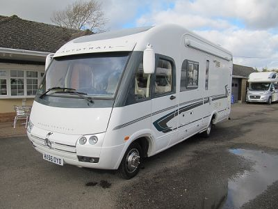 Autotrail Grande Frontier A7300 Mercedes 2700cdi 2 b 2006 motorhome for sale from Pearman Briggs Motorhomes
