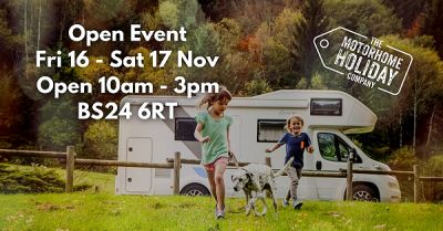 Open Event - Sales, Hire and MotorhomeShare News Photo
